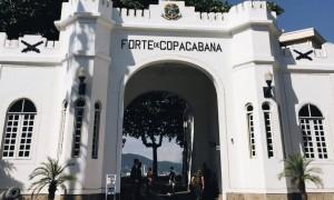 Visitando o Forte de Copacabana #RJ