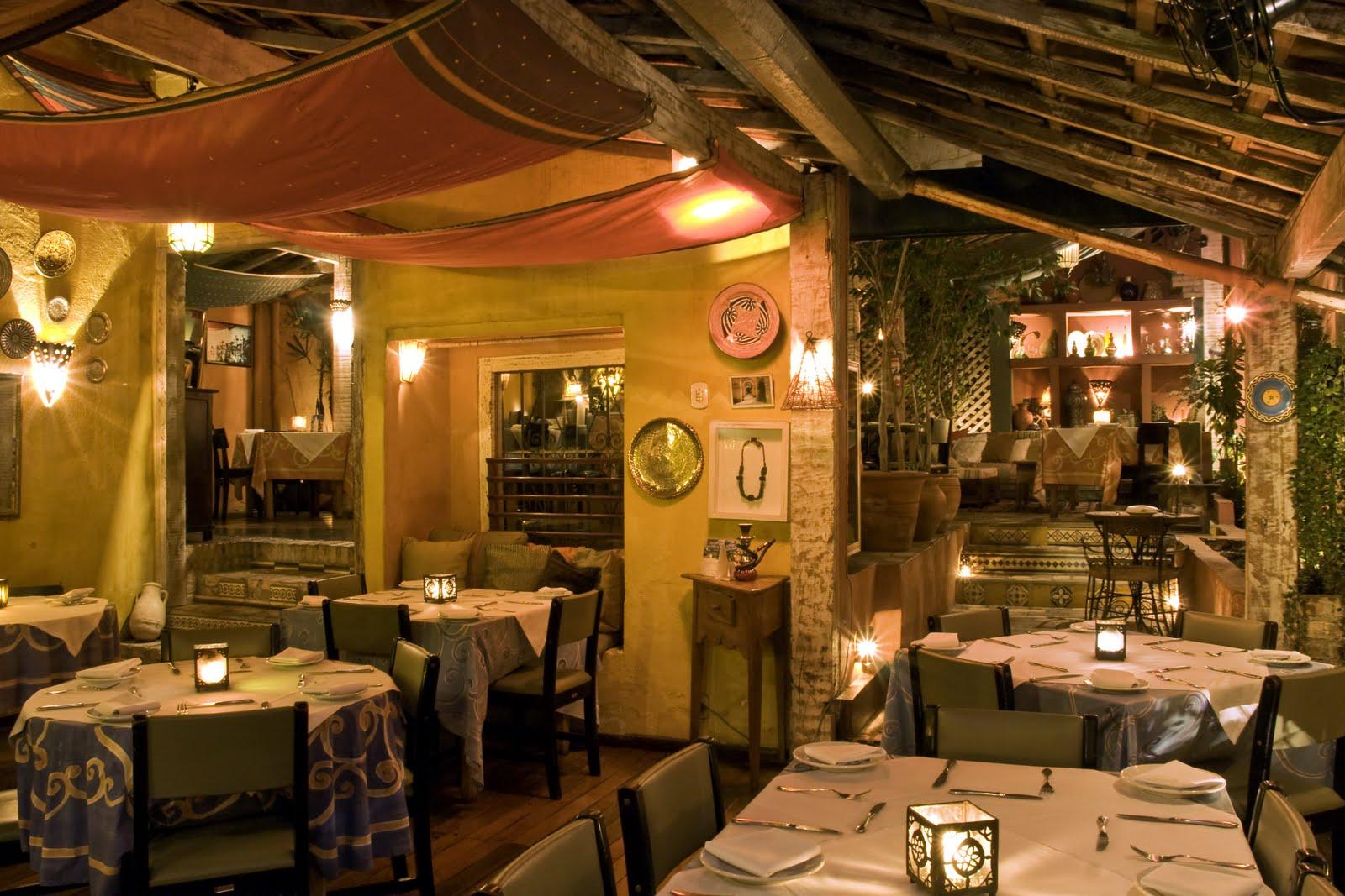 Restaurante marroquino, Tanger