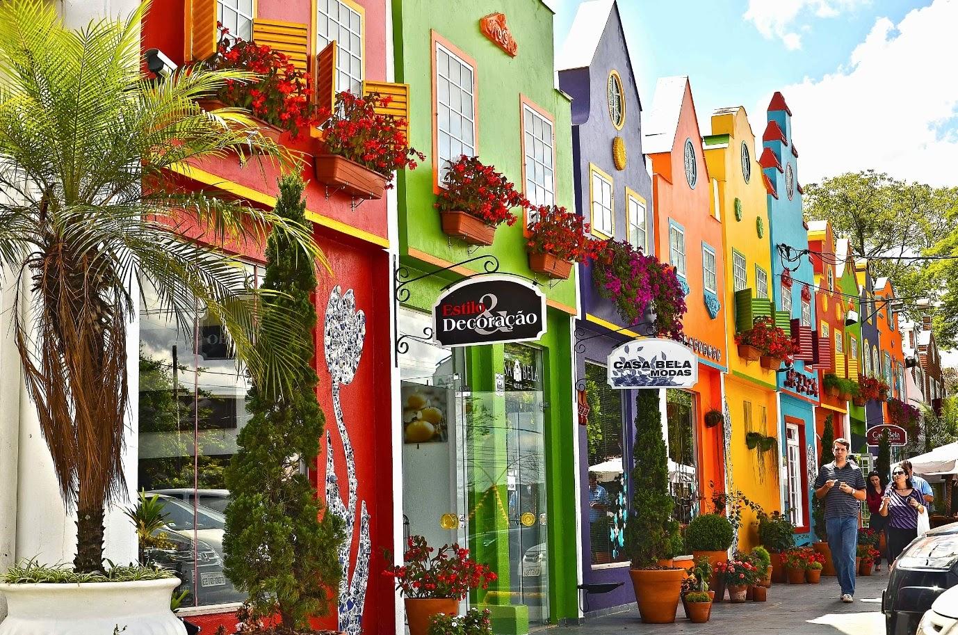 Holambra, cidade inspirada na cultura holandesa.